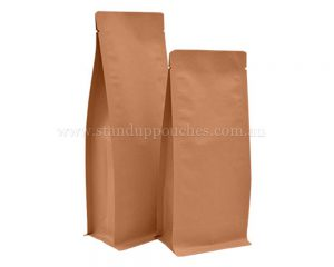 Kraft Paper Pouches Bags Without Zipper