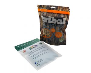 Fish food packaging