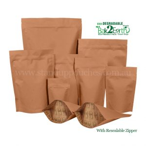STOCK OXO-DEGRADABLE BAGS