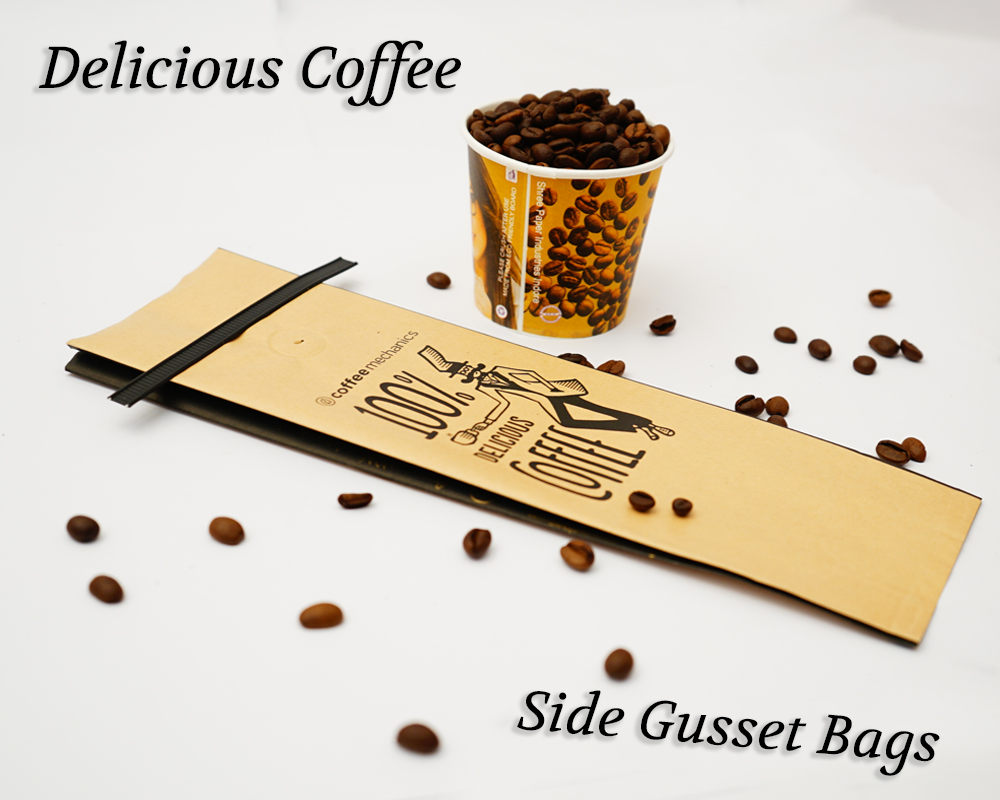 Delicious Coffee Packaging