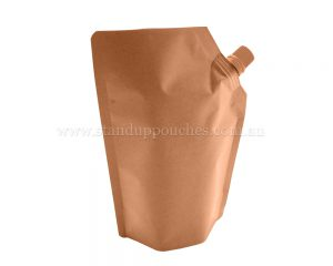 Brown Paper Spout Pouch
