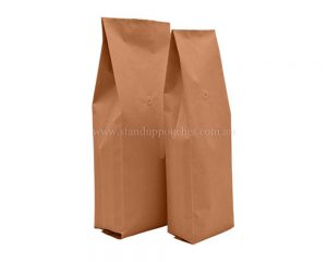 Brown Paper Side Gusset
