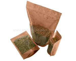 Clear / Brown Paper Bags