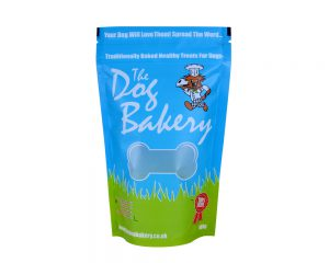 Dog food packaging