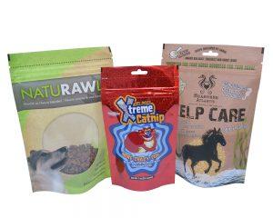 Custom Fish food packaging