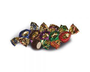 Choco/ Clear Twist Wrap