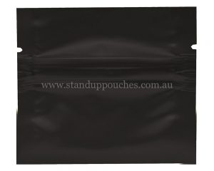 1gm Black Three Side Seal Bag