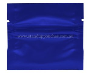1gm Blue Three Side Seal Bag
