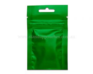 3gm Green Three Side Seal Bag