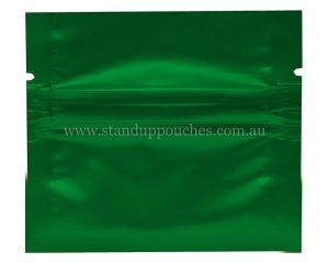 1gm Green Three Side Seal Bag
