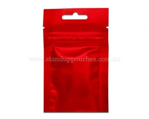 3gm Red Three Side Seal Bag