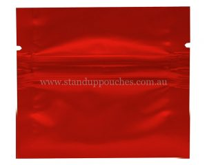 1gm Red Three Side Seal Bag