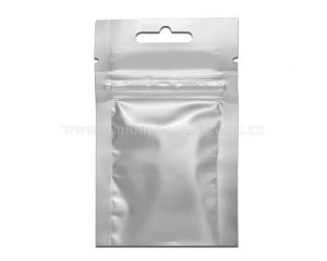 3gm Silver Three Side Seal Bag