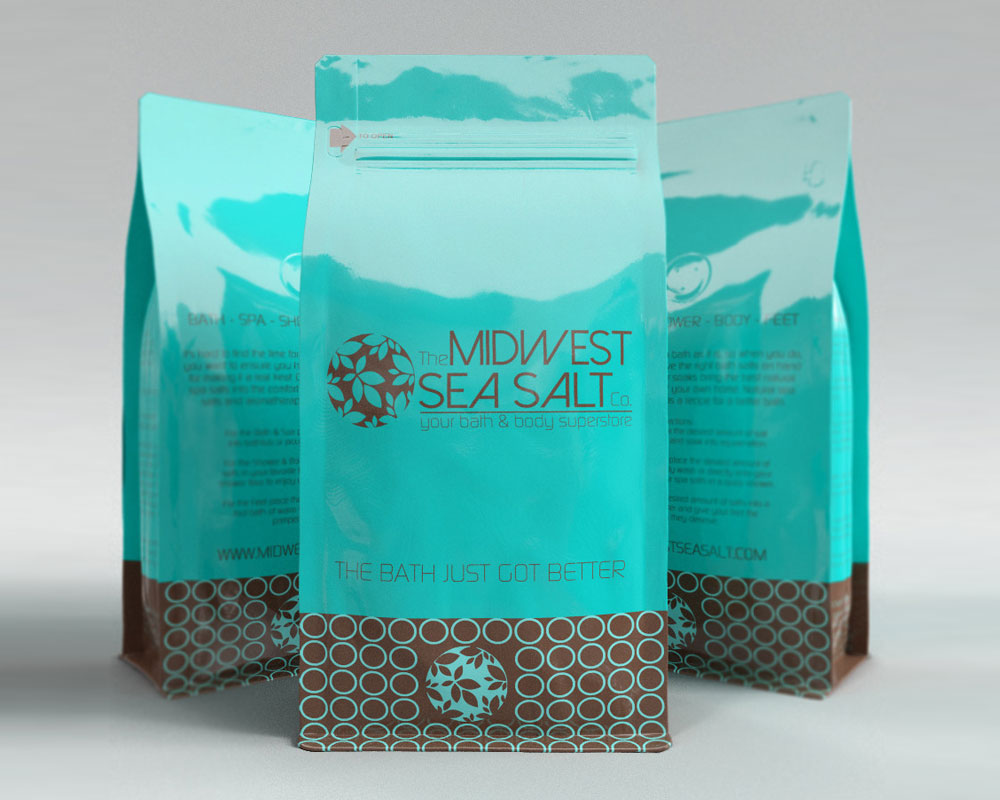 Midwest Sea Salt Packaging