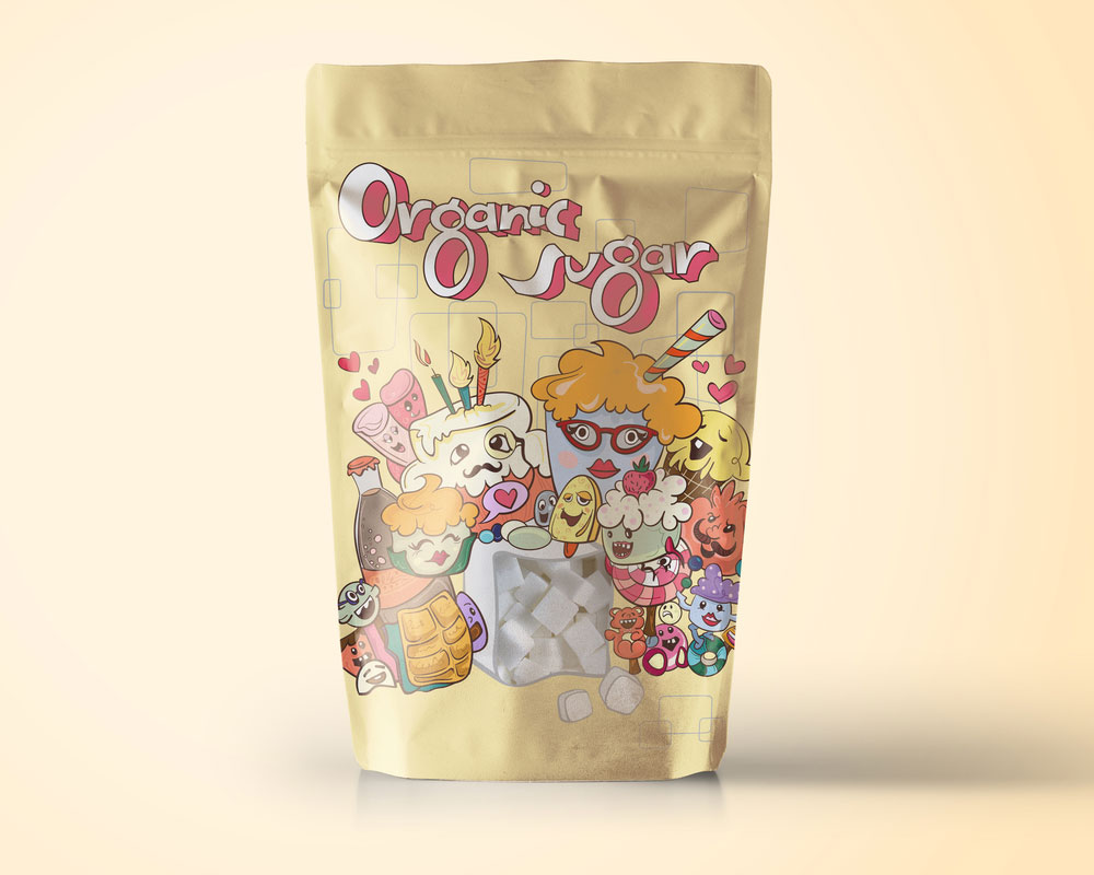 Organic Sugar Packaging