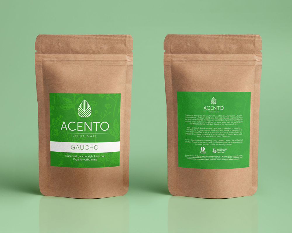 Acento Tea Packaging