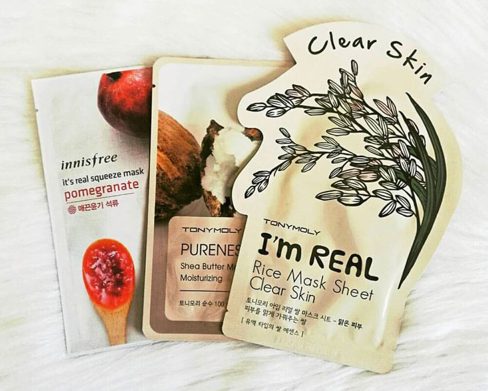 Clear Skin Mask Packaging