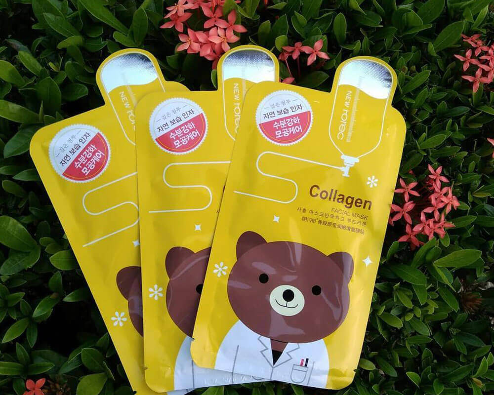 Collagen Cosmetic Sheet Mask Packaging