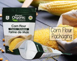 Corn Flour Pacakaging