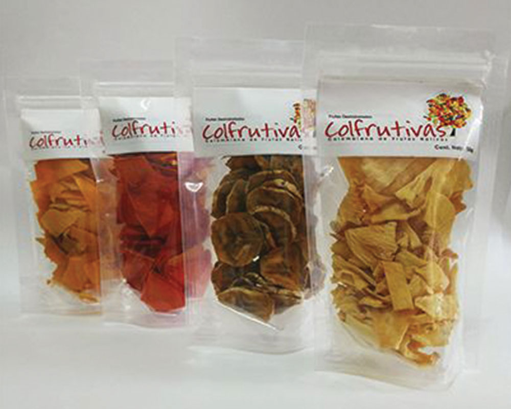 Dried Fruits Packaging With Clear Pouches