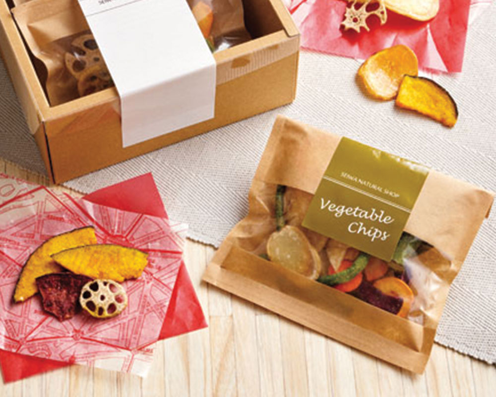 Dried Fruits Packaging With label & window pouches