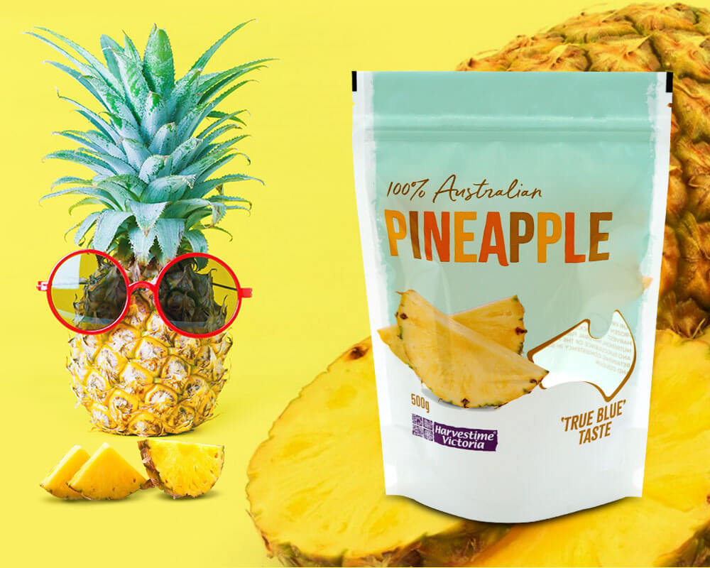 Pineapple Dried Fruits Packaging