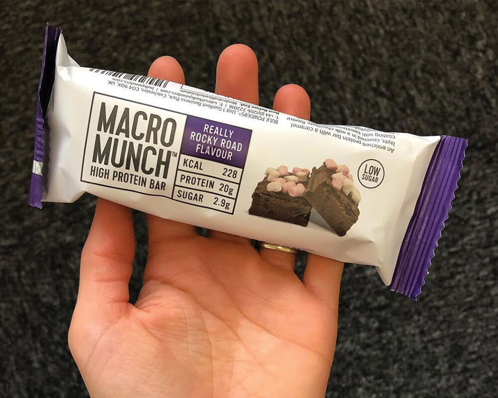 Macro Munch Bar Packaging