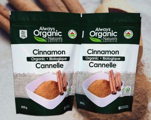 Organic Cinnamon Packaging