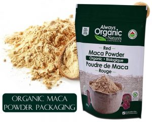 Organic Maca Powder Packaging