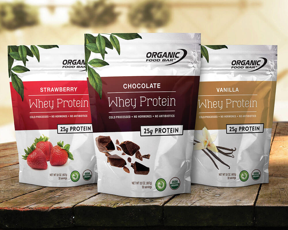 Organic Protein Powder Packaging