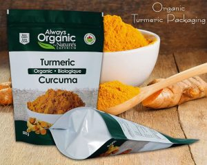 Organic Turmeric Packaging