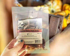 Pork Jerky Bags