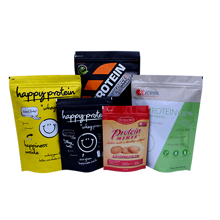 Supplement Protein powder Packaging