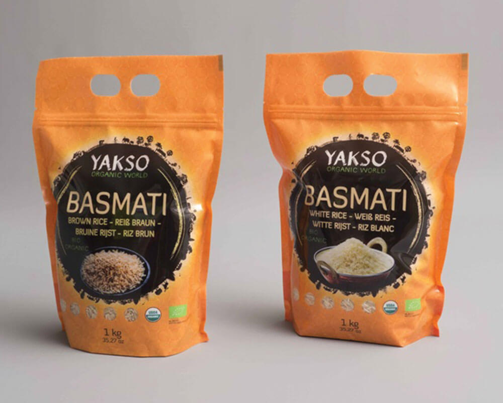 Basmati Rice Packaging