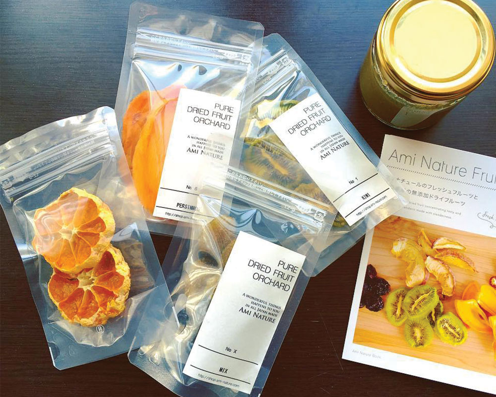 Dried Fruits Packaging With Clear & Label Pouches