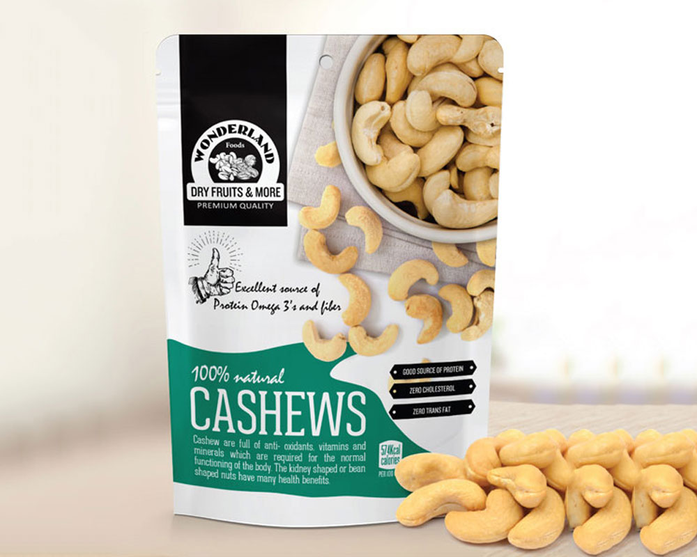 Cashews Packaging